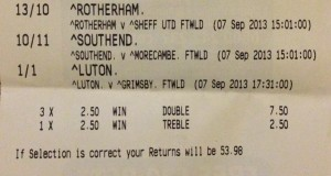 The Best Betting Systems football challenge week 4
