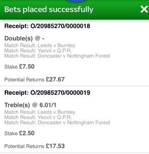 The Best Betting Systems football challenge week 6