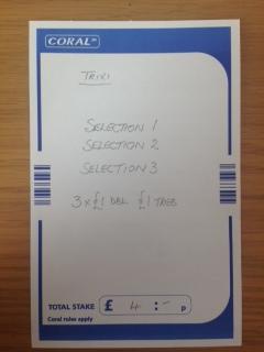 Trixie betting slip